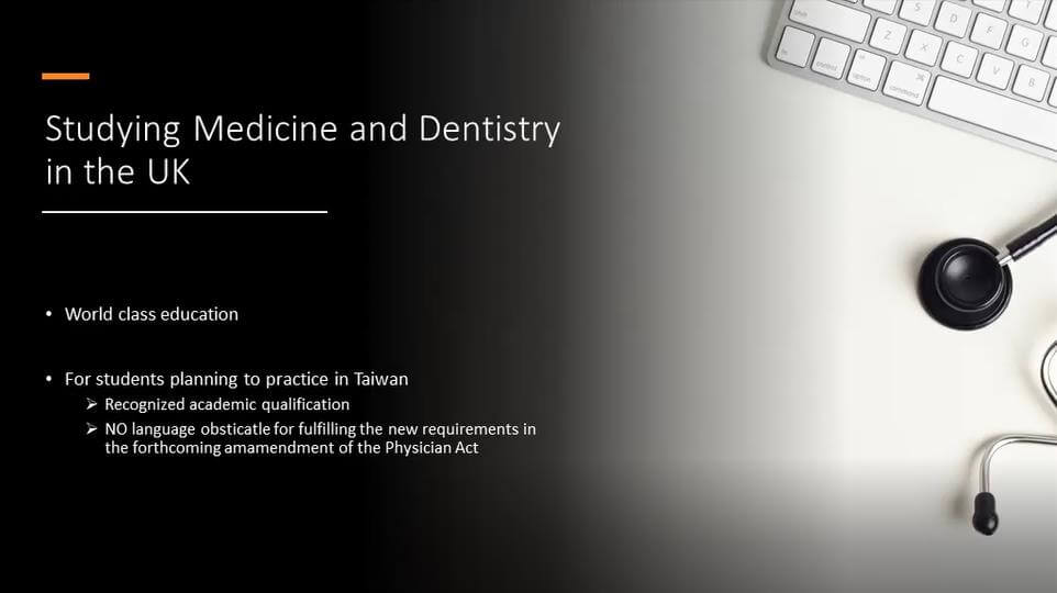 Studying Medicine and Dentistry in the UK